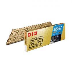CATENA DID 415ER (Gold & Gold) - Lunghezza: 104 maglie con giunto a clip (RJ)