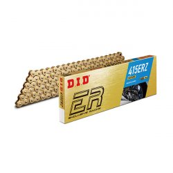 CATENA DID 415ER (Gold & Gold) - Lunghezza: 106 maglie con giunto a clip (RJ)